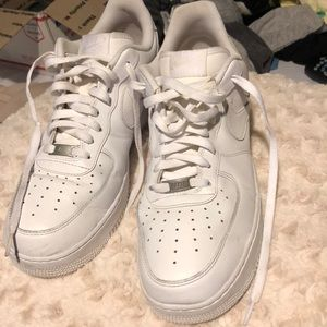 White Air Force 1 size 12